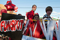 Homecoming PRIDE parade at Laconia High School.  Karen Bobotas/for the Laconia Daily Sun