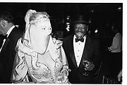 Rosekrans Ball, Mayor Willie Brown and Charlotte Maillard Swig, San Francisco, 1996© Copyright Photograph by Dafydd Jones 66 Stockwell Park Rd. London SW9 0DA Tel 020 7733 0108 www.dafjones.com