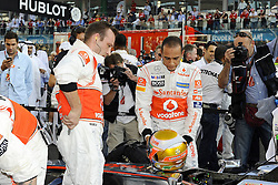 13.11.2011, Yas-Marina-Circuit, Abu Dhabi, UAE, Grosser Preis von Abu Dhabi, im Bild Lewis Hamilton (GBR), McLaren F1 Team  // during the Formula One Championships 2011 Large price of Abu Dhabi held at the Yas-Marina-Circuit, 2011/11/13. EXPA Pictures © 2011, PhotoCredit: EXPA/ nph/ Dieter Mathis..***** ATTENTION - OUT OF GER, CRO *****