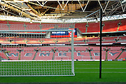 Wembley during the Group E UEFA European 2016 Qualifier match between England and Estonia at Wembley Stadium, London, England on 9 October 2015. Photo by Alan Franklin.
