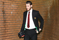 Football - 2019 / 2020 Premier League - Burnley vs. Manchester United<br /> <br /> David De Gea of Manchester United arrives at Turf Moor.<br /> <br /> COLORSPORT