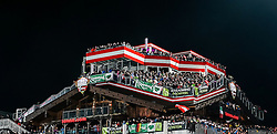 26.01.2016, Planai, Schladming, AUT, FIS Weltcup Ski Alpin, Schladming, Slalom, Herren, 2. Durchgang, im Bild Blick auf die Hohenhaus Tenne // View of the Hohenhaus Tenne during the 2nd run of men's Slalom Race of Schladming FIS Ski Alpine World Cup at the Planai in Schladming, Austria on 2016/01/26. EXPA Pictures © 2016, PhotoCredit: EXPA/ Johann Groder