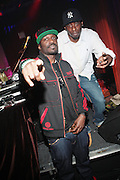 """l to r: Corey Smith and Pete Rock at BlackSmith Presents """" The Night before the Night before Christmas Produced by Jill Newman Productions held at Highline Ballroom on December 23, 2009 in New York City."""