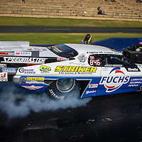7 Time Australian Top Doorslammr Champion John Zappia (846). John ran 5.967, 5.80 and 5.83 second passes at this event, while testing a rear wing that has been shortened 250mm to comply with an upcoming change to the ANDRA Top Doorslammer rules.