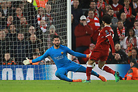 Gol Mohamed Salah 2-0 Goal celebration <br /> Liverpool 24-04-2018 Football Champions League 2017/2018 Semifinal First Leg Liverpool - AS Roma Foto Gino Mancini/Insidefoto