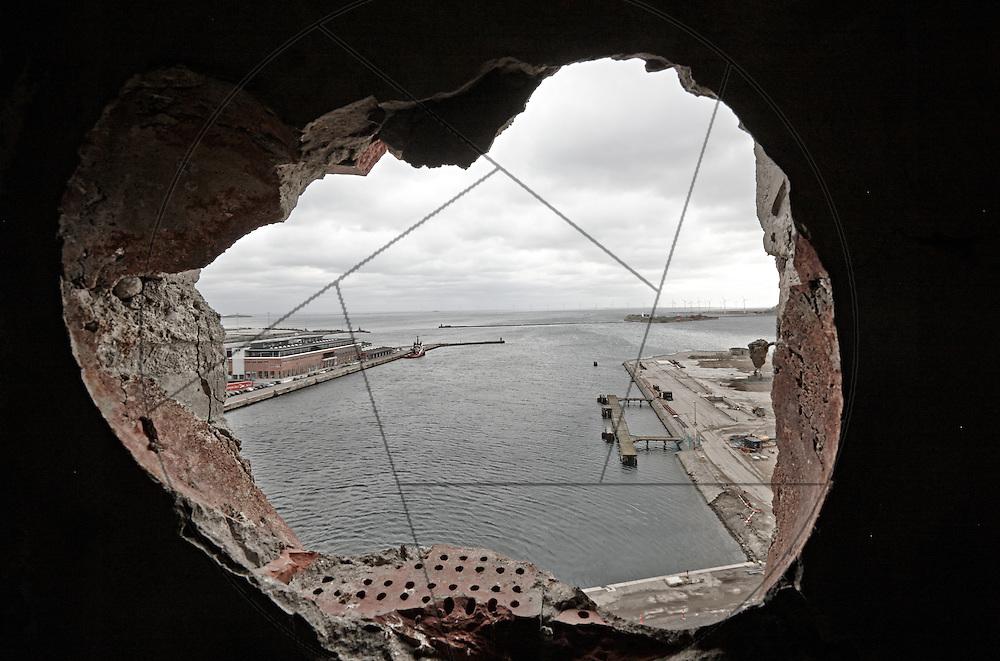 DLG-siloen Nordhavn, Unionkul, ombygning af kornsilo til luksuslejligheder, Klaus Kastbjerg, havneudsigt,