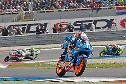 23.09.2012, TT Circuit, Assen, NED, MotoGP, Assen, im Bild 42 Alex Rins // during the MotoGP Iveco TT Assen at the TT Circuit in Assen, Netherlands on 2012/09/23. EXPA Pictures © 2014, PhotoCredit: EXPA/ Eibner-Pressefoto/ FOTO-SPO_AG<br /> <br /> *****ATTENTION - OUT of GER*****