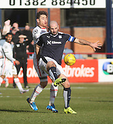 Dundee&rsquo;s Gary Harkins and Inverness&rsquo; Greg Tansey - Dundee v Inverness Caledonian Thistle - Ladbrokes Scottish Premiership at Dens Park<br /> <br />  - &copy; David Young - www.davidyoungphoto.co.uk - email: davidyoungphoto@gmail.com