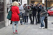 16.MARCH.2012. LONDON<br /> <br /> FEARNE COTTON LEAVING THE STUDIOS OF BBC RADIO ONE, LONDON<br /> <br /> BYLINE: EDBIMAGEARCHIVE.COM<br /> <br /> *THIS IMAGE IS STRICTLY FOR UK NEWSPAPERS AND MAGAZINES ONLY*<br /> *FOR WORLD WIDE SALES AND WEB USE PLEASE CONTACT EDBIMAGEARCHIVE - 0208 954 5968*