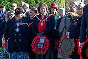 Ceremony of Remembrance at Seaford, East Sussex on 11 November 2012 Seaford Dignitaries