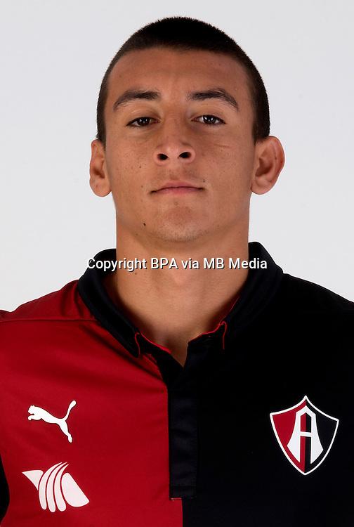Mexico League - BBVA Bancomer MX 2014-2015 -<br /> Rojinegros - Club Atlas de Guadalajara Fc / Mexico - <br /> Daniel Alvarez