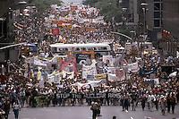 June 1982 --- Nuclear Arms Race Protest --- Image by © Owen Franken/Corbis