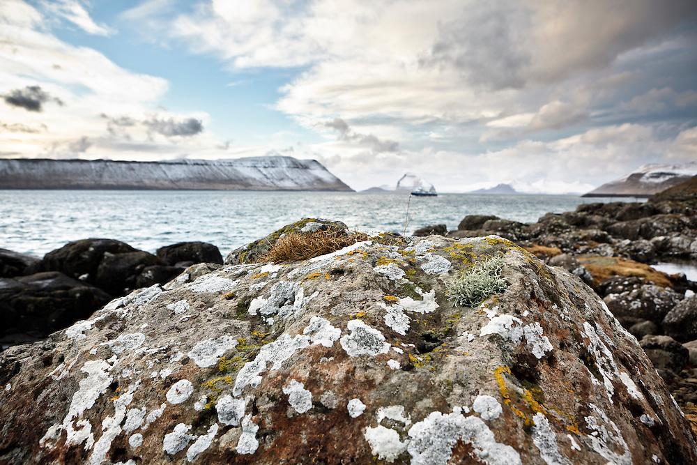 Rocks down by the sea in Kirkjubo