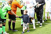 Trevors grandson during the Trevor Horsley Memorial Match held at the New Lawn, Forest Green, United Kingdom on 19 May 2019.