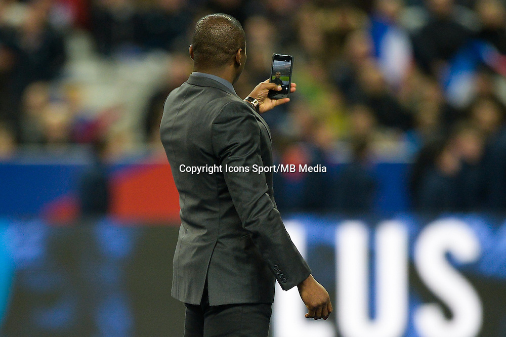 Marcel Desailly  - 26.03.2015 - France / Bresil - Match Amical<br />Photo : Andre Ferreira / Icon Sport