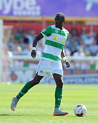 Yeovil Town's Nathan Smith - Photo mandatory by-line: Harry Trump/JMP - Mobile: 07966 386802 - 08/08/15 - SPORT - FOOTBALL - Sky Bet League Two - Exeter City v Yeovil Town - St James Park, Exeter, England.