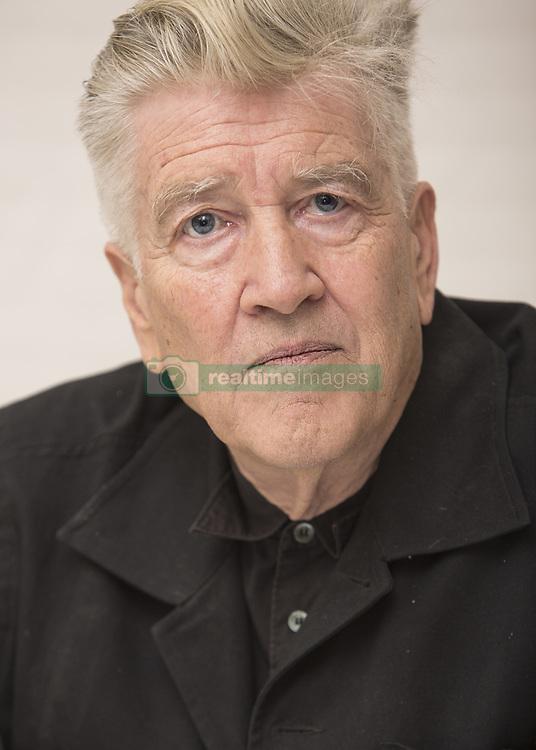 May 22, 2017 - Hollywood, California, U.S. - David Lynch creator of TV Series 'Twin Peaks' promotes new show  25 years later. David Keith Lynch (born January 20, 1946) is an American director, screenwriter, producer, painter, musician, and photographer. (Credit Image: © Armando Gallo via ZUMA Studio)