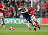 Photo: Richard Lane/Richard Lane Photography. Nottingham Forest v Cardiff City. Coca Cola Championship. 24/10/2008. Ross McCormack breaks forward