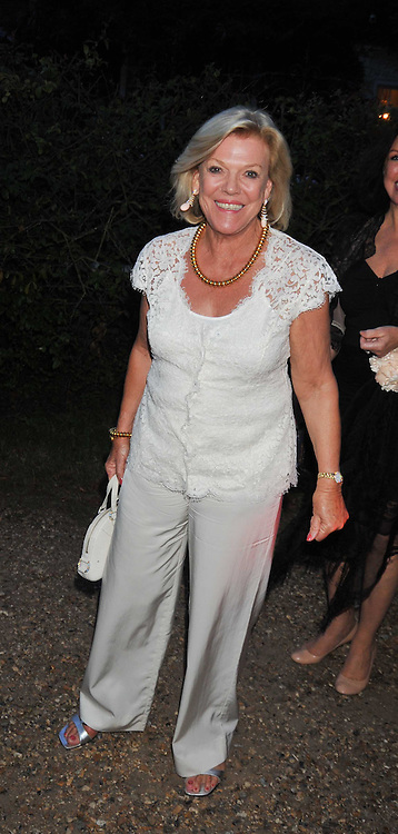ROS PACKER at a Summer party hosted by Lady Annabel Goldsmith at her home Ormeley Lodge, Ham, Surrey on 14th July 2009.