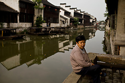 People live in town of Jili which was once famous for silk in China, June 12, 2010.