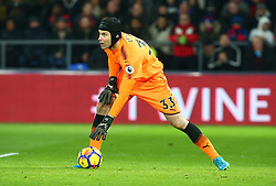 December 28, 2017 - London, England, United Kingdom - Arsenal's Petr Cech during Premier League  match between Crystal Palace and Arsenal at Selhurst Park Stadium, London,  England 28 Dec 2017. (Credit Image: © Kieran Galvin/NurPhoto via ZUMA Press)
