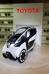 Toyota electric i-Ride concept vehicle at Tokyo Motor Show 2013 in Japan