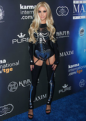 2017 MAXIM Halloween Party held at Los Angeles Center Studios on October 21, 2017 in Los Angeles, California. 21 Oct 2017 Pictured: Scheana Marie. Photo credit: IPA/MEGA TheMegaAgency.com +1 888 505 6342