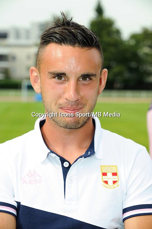 Adrien Thomasson - 19.07.2014 - Bastia / Evian Thonon - Match Amical<br /> Photo : Jean Paul Thomas / Icon Sport