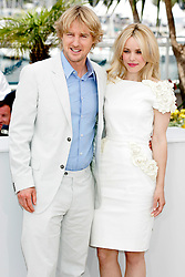 """11.05.2011, Cannes, FRA, Filmfestspiele von Cannes 2011, im Bild Axctors Owen Wilson and Rachel McAdams attending the 63rd Annual Cannes Film Festival / Festival de Cannes 2011 - Photocall for """"Midnight in Paris""""  CANNES FRANCJA FESTIWAL FILMOWY.FOT. EXPA Pictures © 2011, PhotoCredit: EXPA/ EXPA/ Newspix/ Future Images +++++ ATTENTION - FOR AUSTRIA/(AUT), SLOVENIA/(SLO), SERBIA/(SRB), CROATIA/(CRO), SWISS/(SUI) and SWEDEN/(SWE) CLIENT ONLY +++++"""