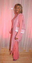 LIZ BREWER at the annual Laurent Perrier Pink Party held at The Sanderson Hotel, Berners Street, London on 27th April 2005.<br />