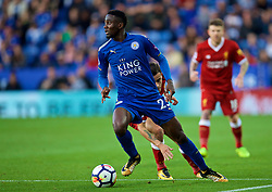 LEICESTER, ENGLAND - Saturday, September 23, 2017: Leicester City's Wilfred Ndidi during the FA Premier League match between Leicester City and Liverpool at the King Power Stadium. (Pic by David Rawcliffe/Propaganda)