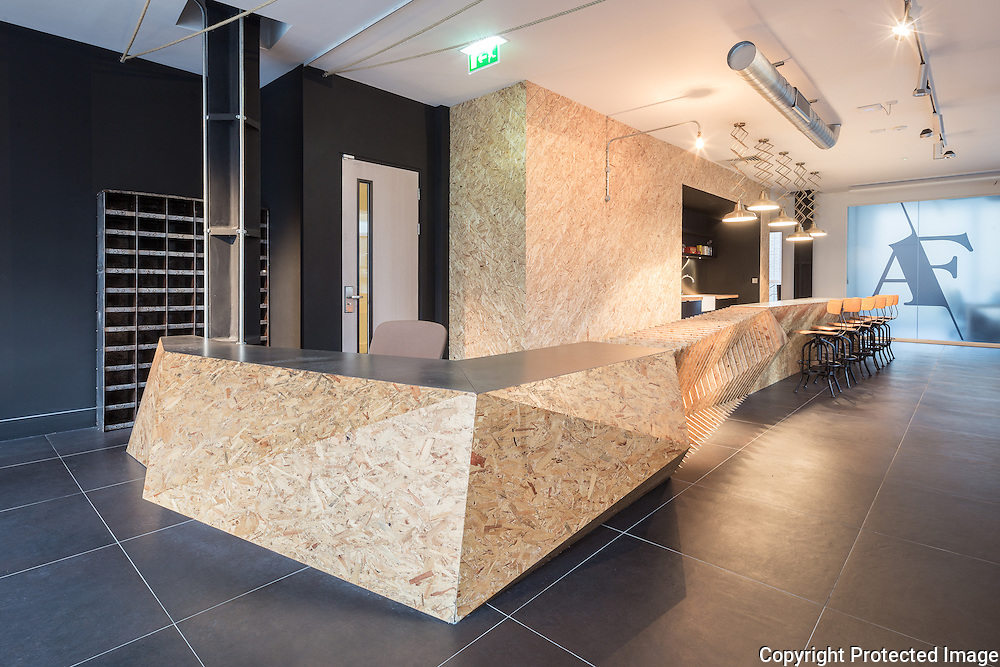 Analog Folk Reception and Meeting Room, 2015 by Design Haus Liberty