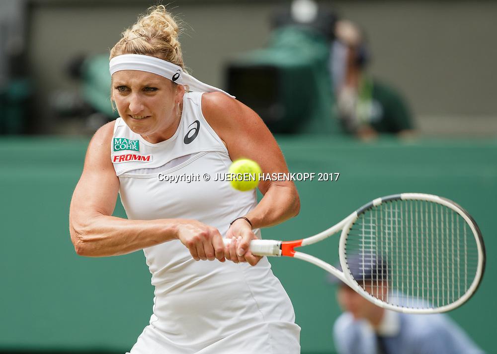 TIMEA BACSINSZKY (SUI)<br /> <br /> Tennis - Wimbledon 2017 - Grand Slam ITF / ATP / WTA -  AELTC - London -  - Great Britain  - 8 July 2017.