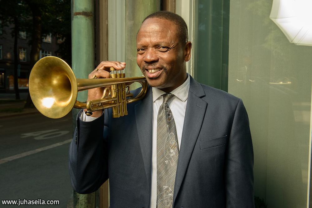 Leroy Jones, jazz trumpeter from New Orleans, Louisiana