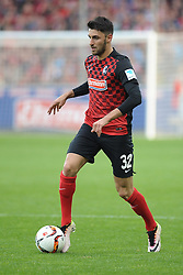 22.04.2016, Schwarzwald Stadion, Freiburg, GER, 2. FBL, SC Freiburg vs MSV Duisburg, 31. Runde, im Bild Vincenzo Grifo (SC Freiburg) // during the 2nd German Bundesliga 31th round match between SC Freiburg and MSV Duisburg at the Schwarzwald Stadion in Freiburg, Germany on 2016/04/22. EXPA Pictures &copy; 2016, PhotoCredit: EXPA/ Eibner-Pressefoto/ Laegler<br /> <br /> *****ATTENTION - OUT of GER*****