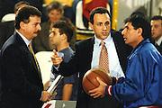 Qualif. Campionato Europeo Benevento 1994 Italia-Ungheria<br /> ettore messina claudio silvestri