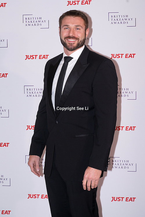Ben Cohen attends The British Takeaway Awards 2016, Monday 5th December at The Savoy in London,,UK. Photo by See Li
