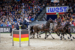 Geerts Glenn, BEL , Maestoso XLV - 3, Maestoso XLV-1-1, Negro, Szellem<br /> Stuttgart - German Masters 2019<br /> © Hippo Foto - Stefan Lafrentz<br /> 15/11/2019