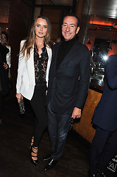 ROBERT & MASHA HANSON at a dinner hosted by de Grisogono at 17 Berkeley Street, London on 12th November 2012.