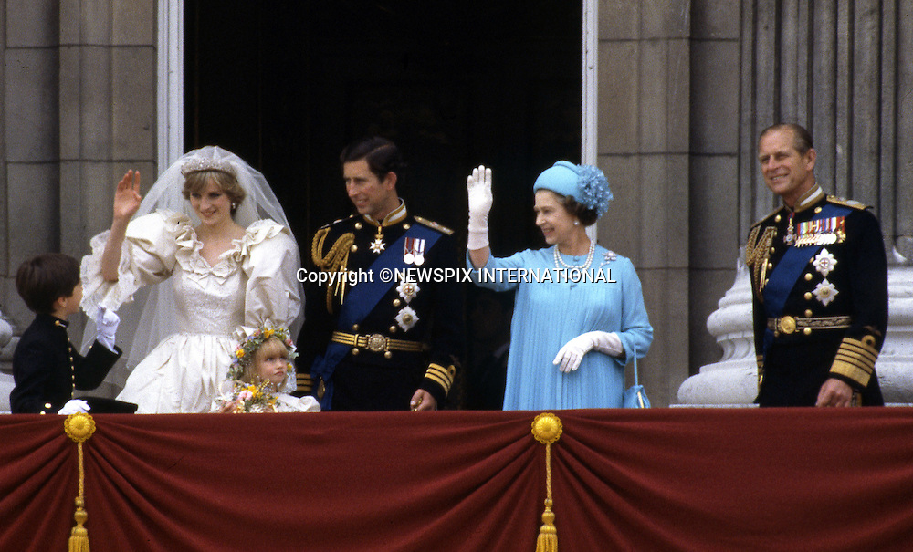"""PRINCE CHARLES AND PRINCESS DIANA.a lot can read into a public kiss and body language..Prince Charles and Princess Diana on the balcony of Buckingham Palace on their wedding day, London_29/07/1981.Mandatory Photo Credit: ©Francis Dias/Newspix International..**ALL FEES PAYABLE  TO: """"NEWSPIX INTERNATIONAL""""**..PHOTO CREDIT MANDATORY!!: NEWSPIX INTERNATIONAL(Failure to credit will incur a surcharge of 100% of reproduction fees)..IMMEDIATE CONFIRMATION OF USAGE REQUIRED:.Newspix International, 31 Chinnery Hill, Bishop's Stortford, ENGLAND CM23 3PS.Tel:+441279 324672  ; Fax: +441279656877.Mobile:  0777568 1153.e-mail: info@newspixinternational.co.uk"""