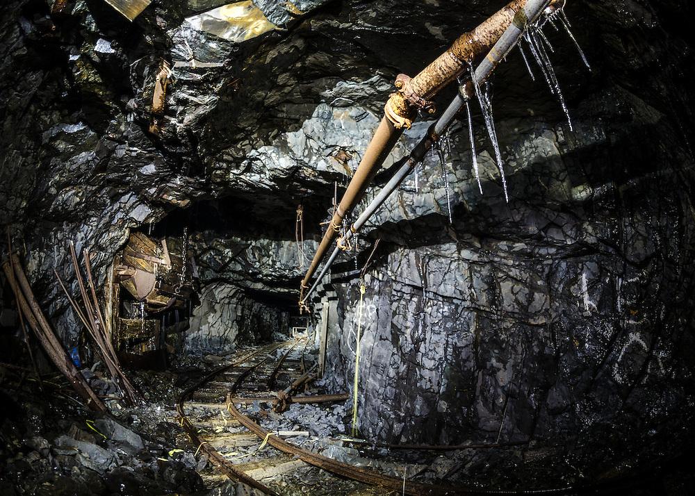 The historic Torbrit Silver mine, Alice Arm BC