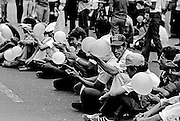On May 9, 1979, a symbolic occupation of San Salvador's Metropolitan Cathedral by the leftist Popular Revolutionary Block – BPR – turned deadly as a cadre of national police turned their weapons on demonstrators killing 24 and wounding scores. The attack on the peaceful demonstration was seen as a coordinated effort - in a very public way - by the sitting Romero government against left wing demonstrations.<br />