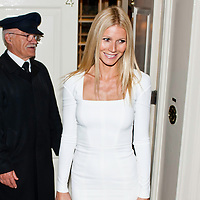London, UK - 19 September 2012: Gwyneth Paltrow participates at the fundraising dinner in London for President Barack Obama's 2012 re-election bid.