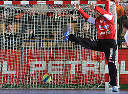 Goalkeeper of Slovenia Beno Lapajne at qualification match for  Euro 2010 in Austria between national teams of Slovenia and Germany, Group 5, on November 2, 2008 in Arena Zlatorog, Celje, Slovenia. (Photo by Vid Ponikvar / Sportal Images)/ Sportida