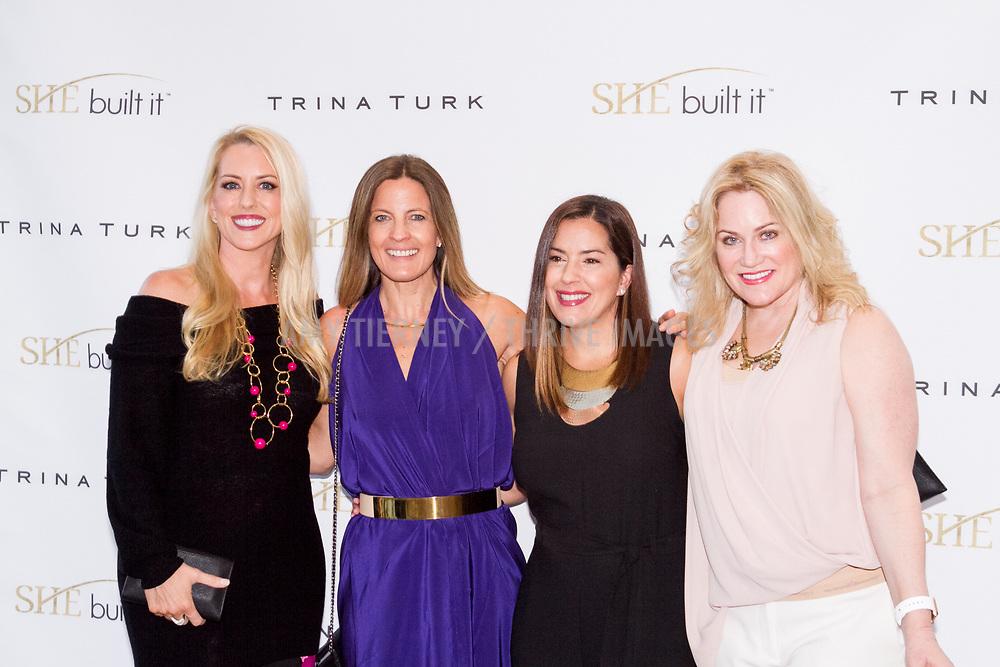 Melanie Barr, Founder of She Built It, Daniella Peters, Silvia Couso-Celis, and Tara Crimin