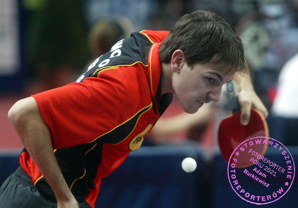 n/z.: Timo Bool (Niemcy)..18-11-2006 Warszawa Polska.Miedzynarodowy turniej tenisa stolowego ITTF Pro Tour Polish Open.fot.: Przemek Wierzchowski / Mediasport