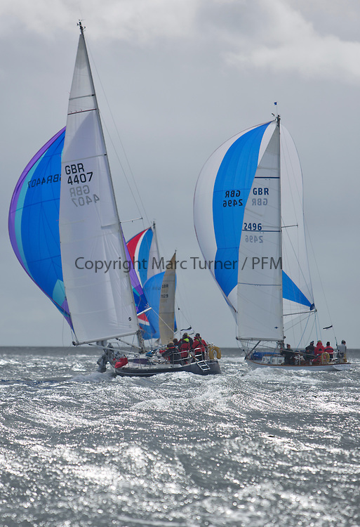 The third days racing at the  Silvers Marine Scottish Series 2015, organised by the  Clyde Cruising Club<br /> Based at Tarbert,  Loch Fyne from 22rd-24th May 2015<br /> <br /> GBR4407, Sequoia, Andrew Scott, Western Isles YC, Maxi Mixer<br /> <br /> <br /> Credit : Marc Turner / CCC<br /> For further information contact<br /> Iain Hurrel<br /> Mobile : 07766 116451<br /> Email : info@marine.blast.com<br /> <br /> For a full list of Silvers Marine Scottish Series sponsors visit http://www.clyde.org/scottish-series/sponsors/