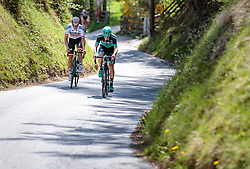 25.04.2018, Innsbruck, AUT, ÖRV Trainingslager, UCI Straßenrad WM 2018, im Bild Gregor Mühlberger (AUT), Patrick Konrad (AUT) // during a Testdrive for the UCI Road World Championships in Innsbruck, Austria on 2018/04/25. EXPA Pictures © 2018, PhotoCredit: EXPA/ JFK