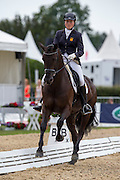 Cloe Morris - Lord Wallonia<br /> FEI World Breeding Dressage Championships for Young Horses 2012<br /> © DigiShots