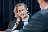 13 SEP 2018, BERLIN/GERMANY:<br /> Tanit Koch, Journalistin, Jahreskonferenz SPD Wirtschaftsforum, Maritim proArte Hotel<br /> IMAGE: 20180913-02-234